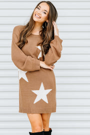 Oh My Stars Sweater Dress