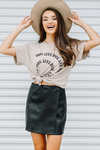 Rock and Roll Vintage Graphic Tee