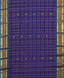 Purple Handloom Gadwal SICO saree