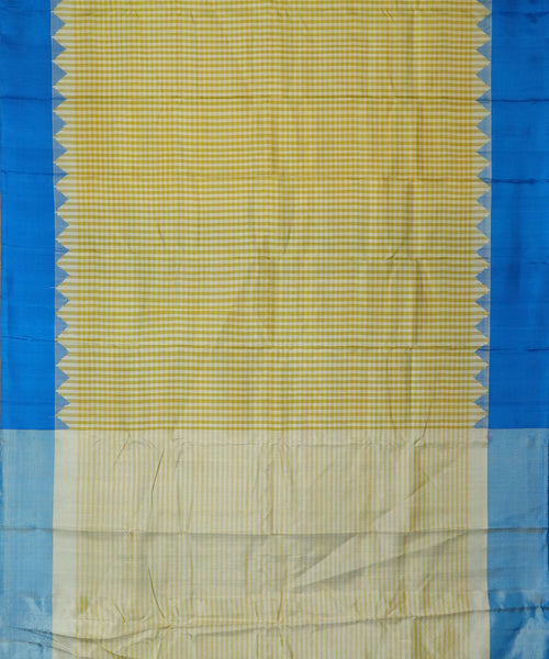 Multi-color handloom Gadwal Silk saree
