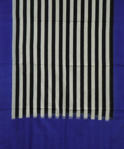 White and Black color Cotton dupatta