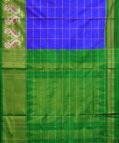 Blue Pochampally Silk Sarees