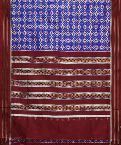 Panpatola blue spun silk saree