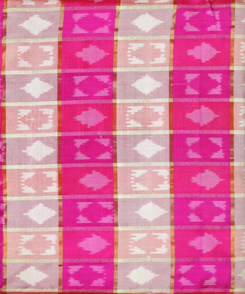 Multi-color pochampally silk material