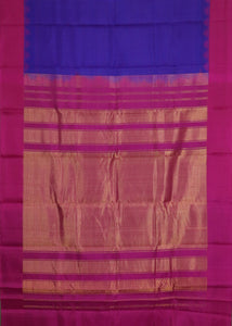 Green color pochampally silk saree
