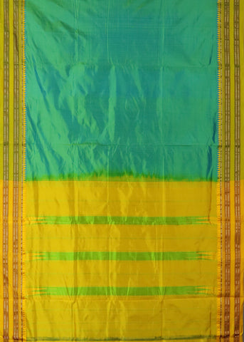 Dark Green Narayanpet Silk saree