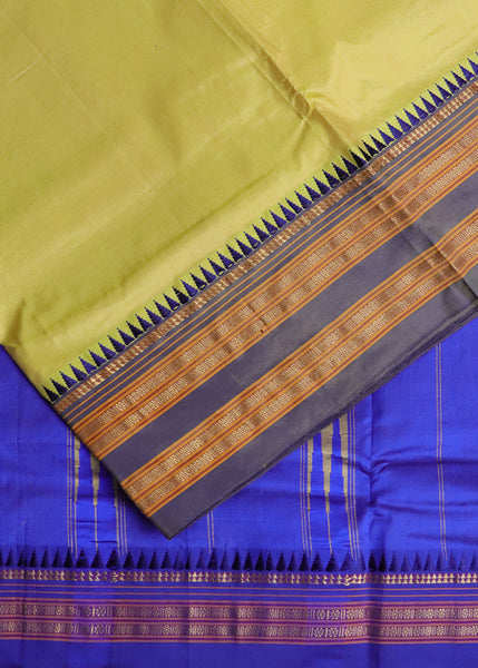 Green color venkatagiri cotton sarees