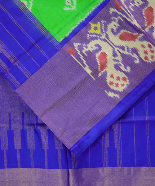 Green Pochampally Silk Sarees
