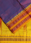 Parrot Green Narayanpet Silk saree