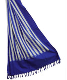 Blue color Cotton dupatta