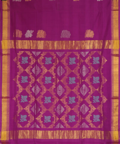 Pink handloom Rajahmundry fancy cotton saree