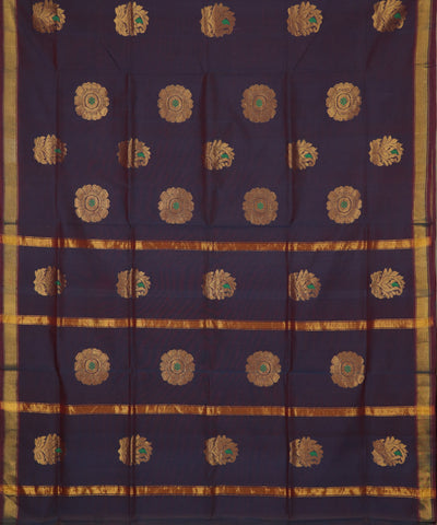 Multi-shade handloom Rajahmundry fancy cotton saree