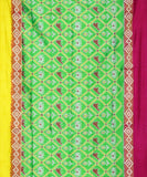 Green color Pochampally Silk Sarees