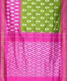 Barn red narayanpet cotton saree