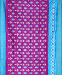 Purple color Pochampally Silk Sarees