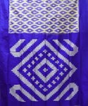 Dark Blue Pochampally Silk Sarees