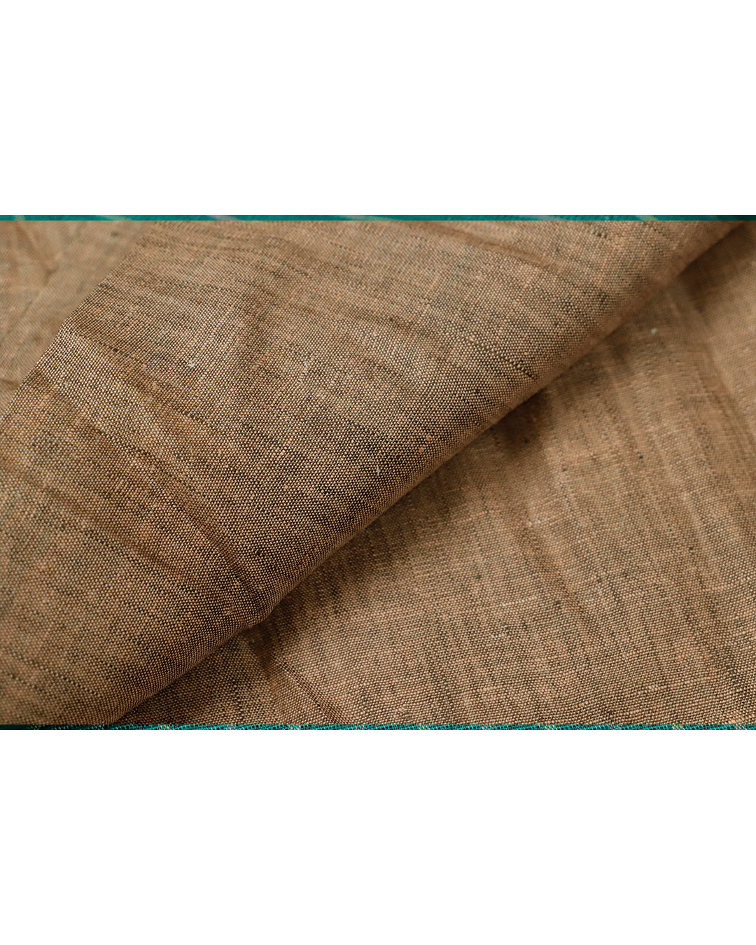 Peanut brown color Linen material