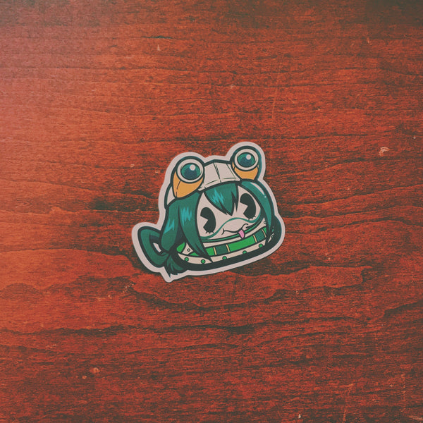 Fropee Poo Sticker