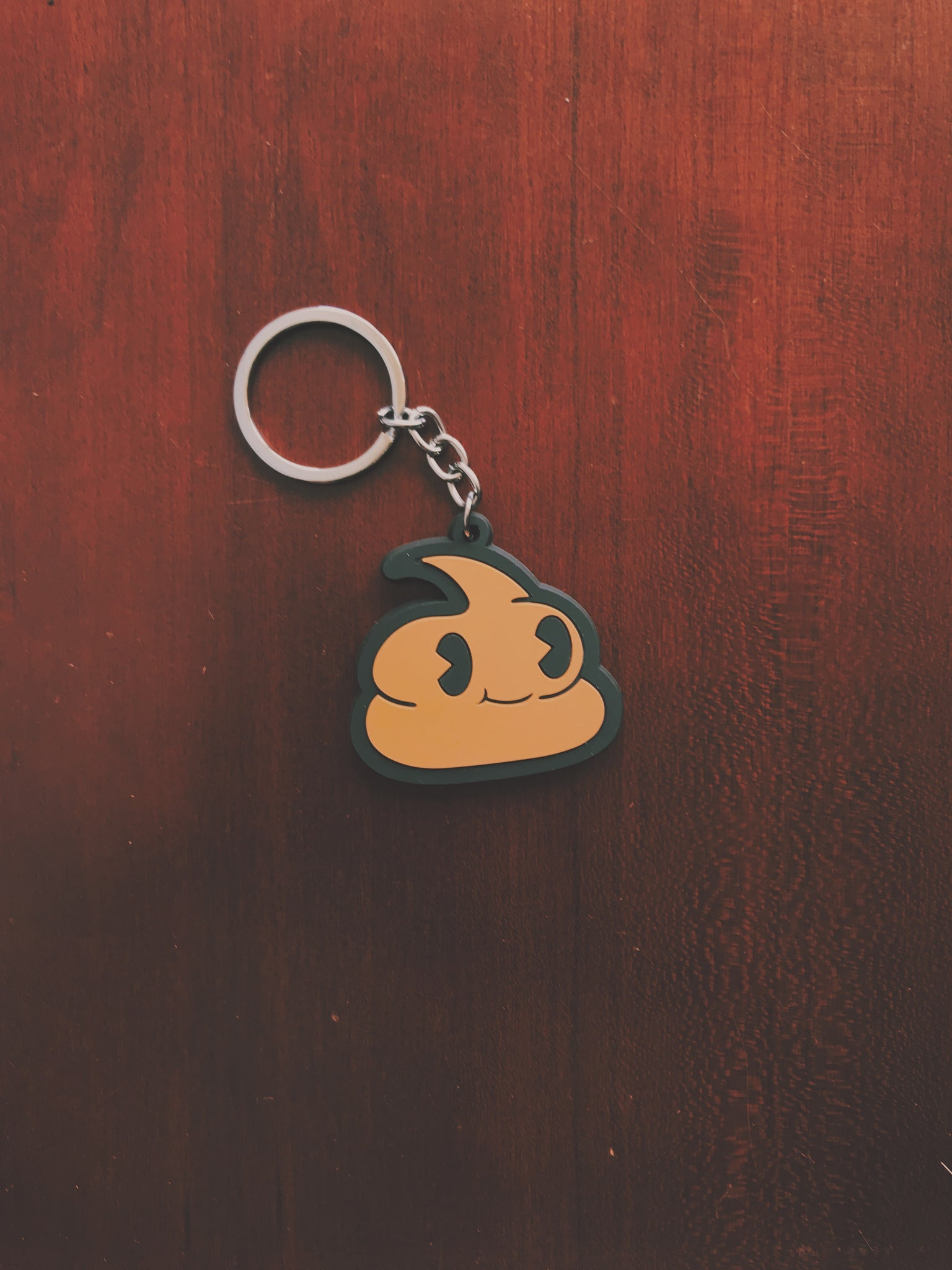 Andre Rubber Keychain