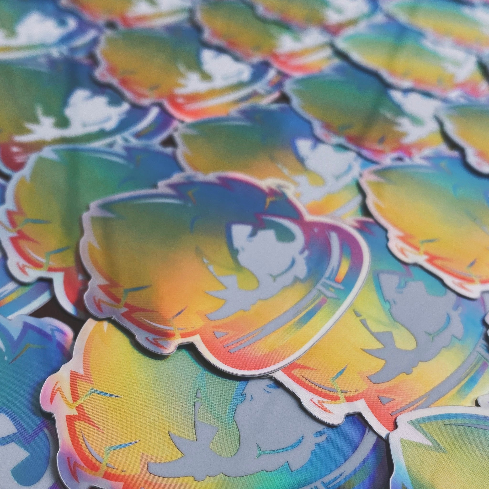 SSJ Andre Rainbow Rare Sticker (Limited to 50)
