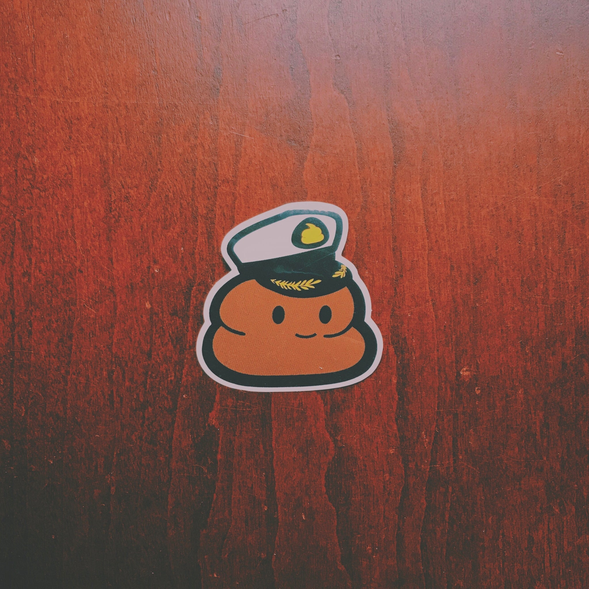 Captain Andre Sticker