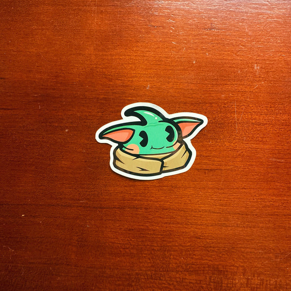 Baby Pooda Sticker