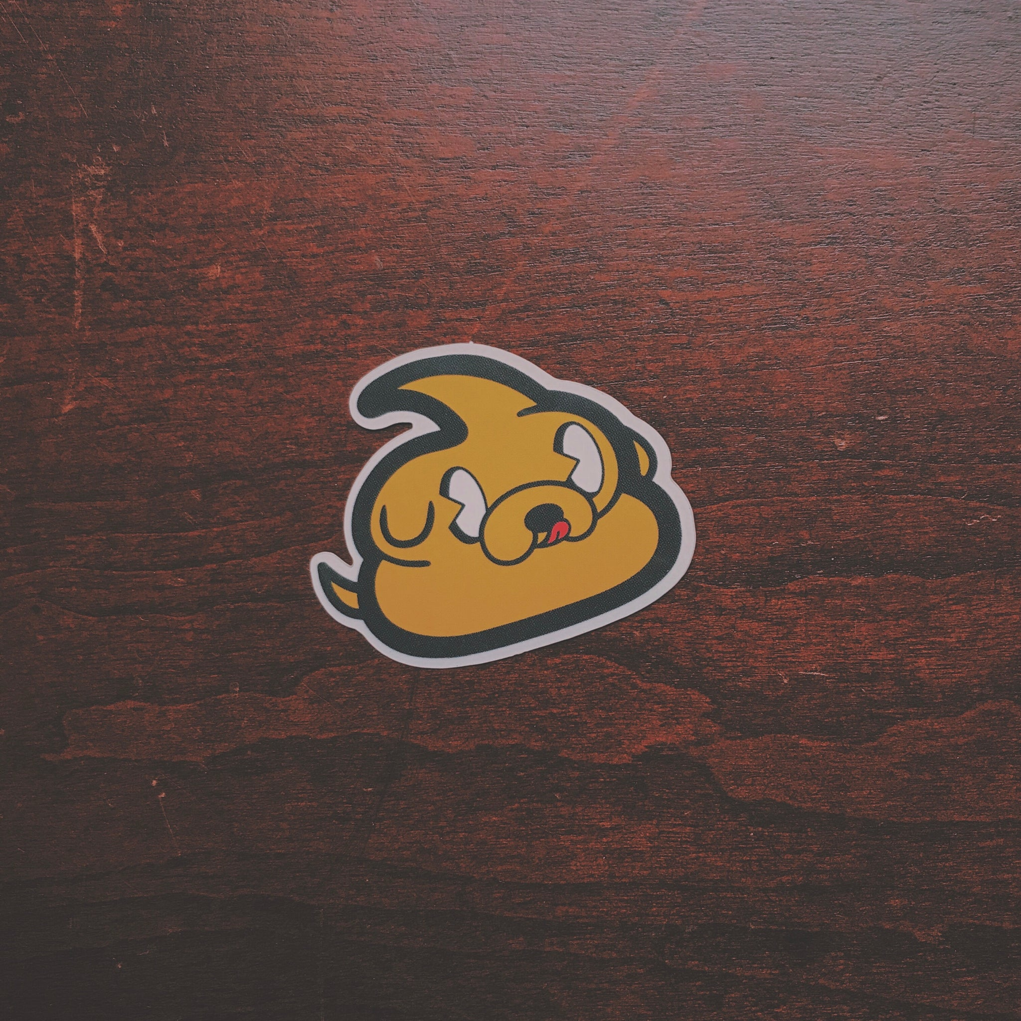Jakey Poo Sticker