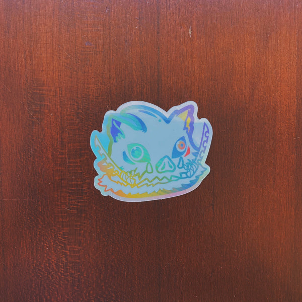 Poonosuke Rainbow Rare Sticker (Limited to 50)