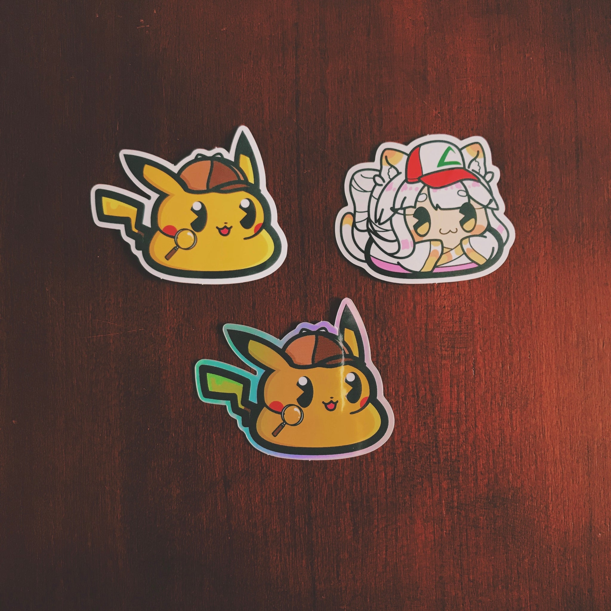 Detective Pikapoo Sticker Pack