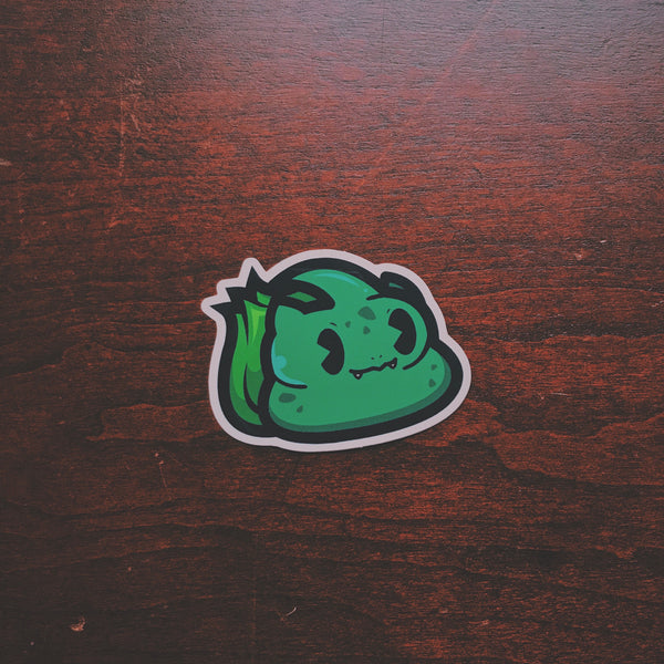 Buttbasaur Sticker