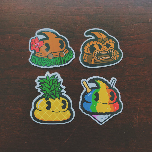Hawaii Andre Sticker Pack