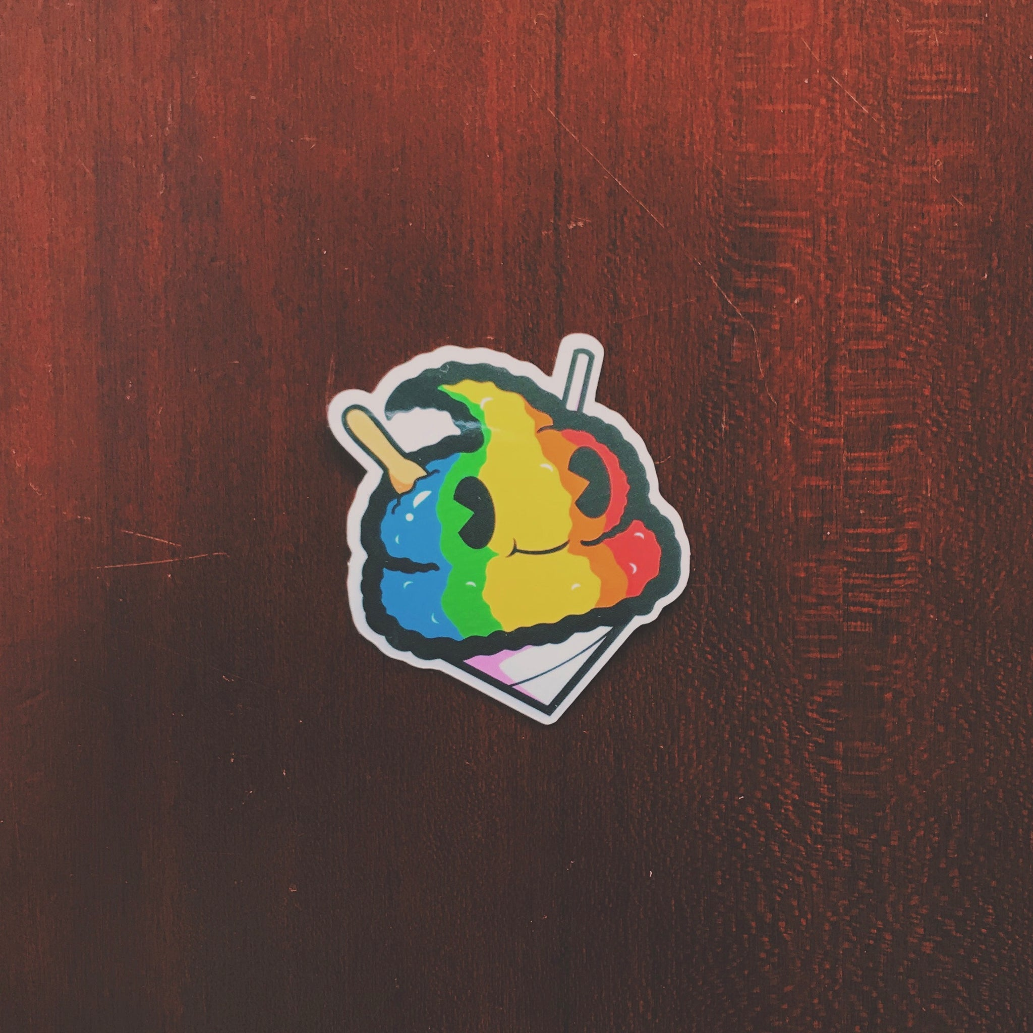 Shave Ice Andre Sticker