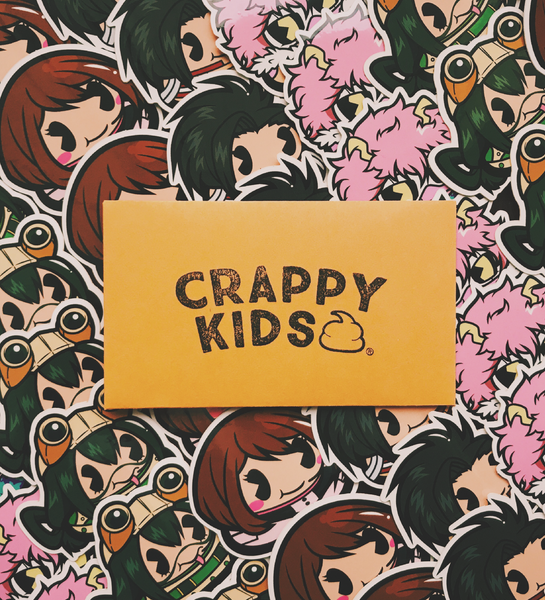 My Crappy Hero Ladies Sticker Pack