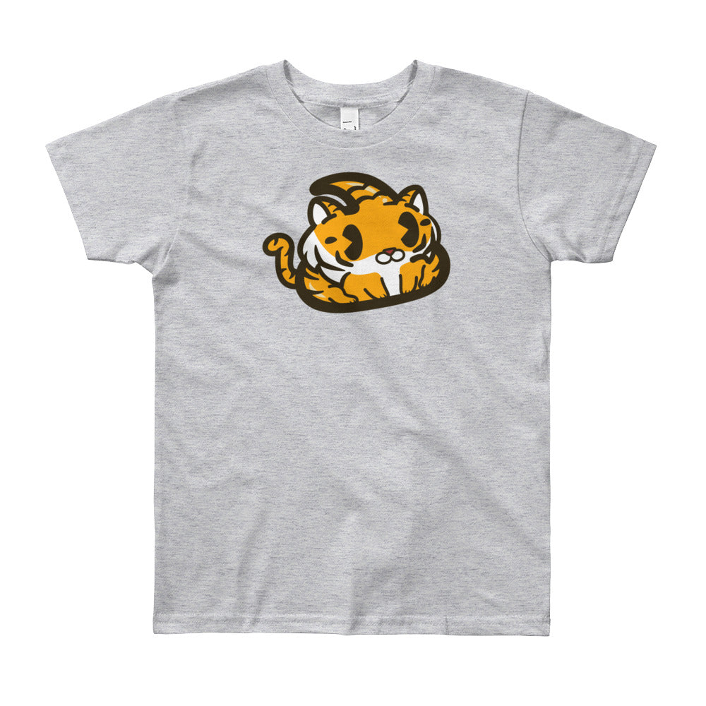 Tiger Poo Youth Short Sleeve T-Shirt