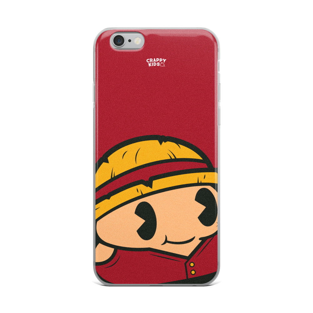 Monkey D. Poopy iPhone Case
