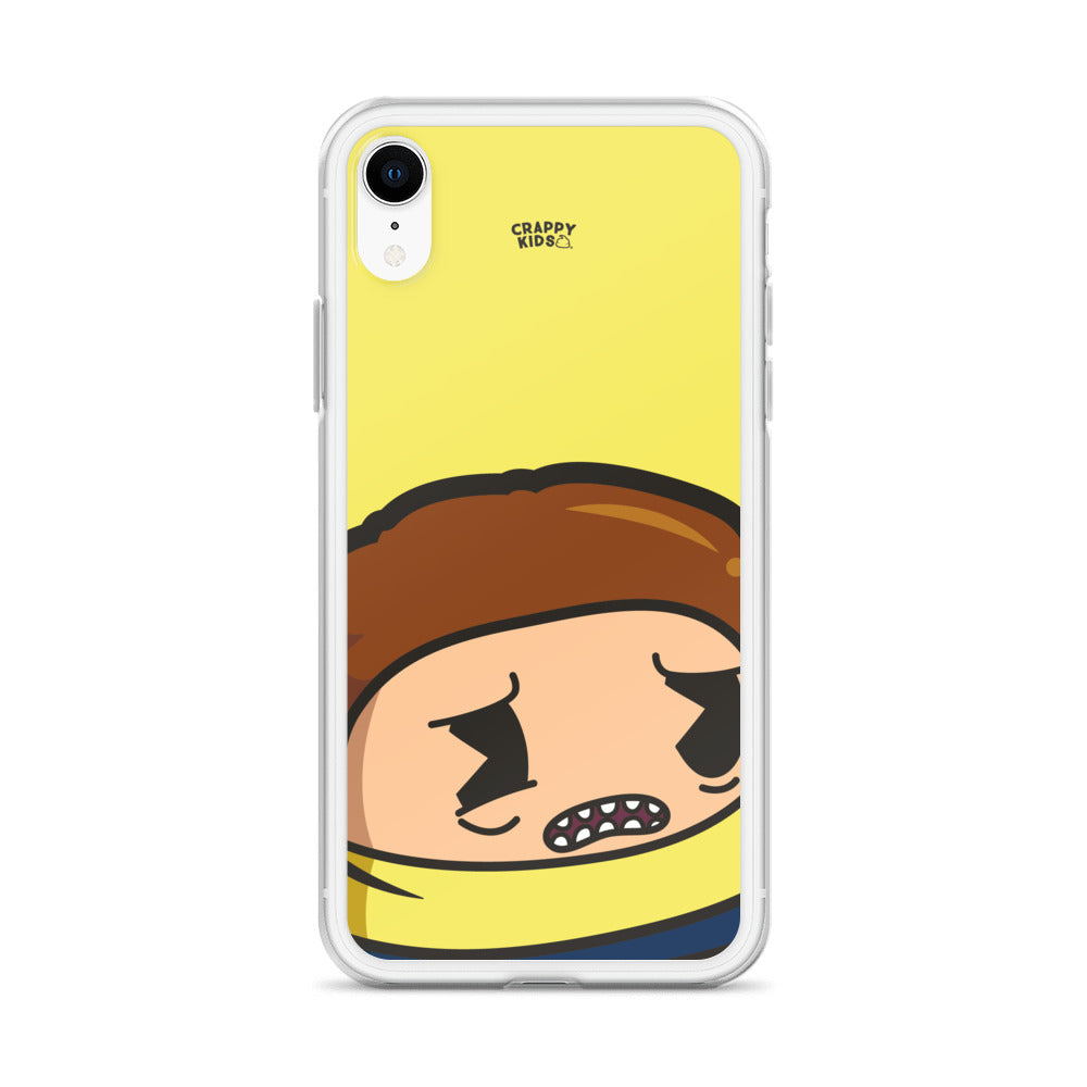 Morty Poo (Yellow) iPhone Case