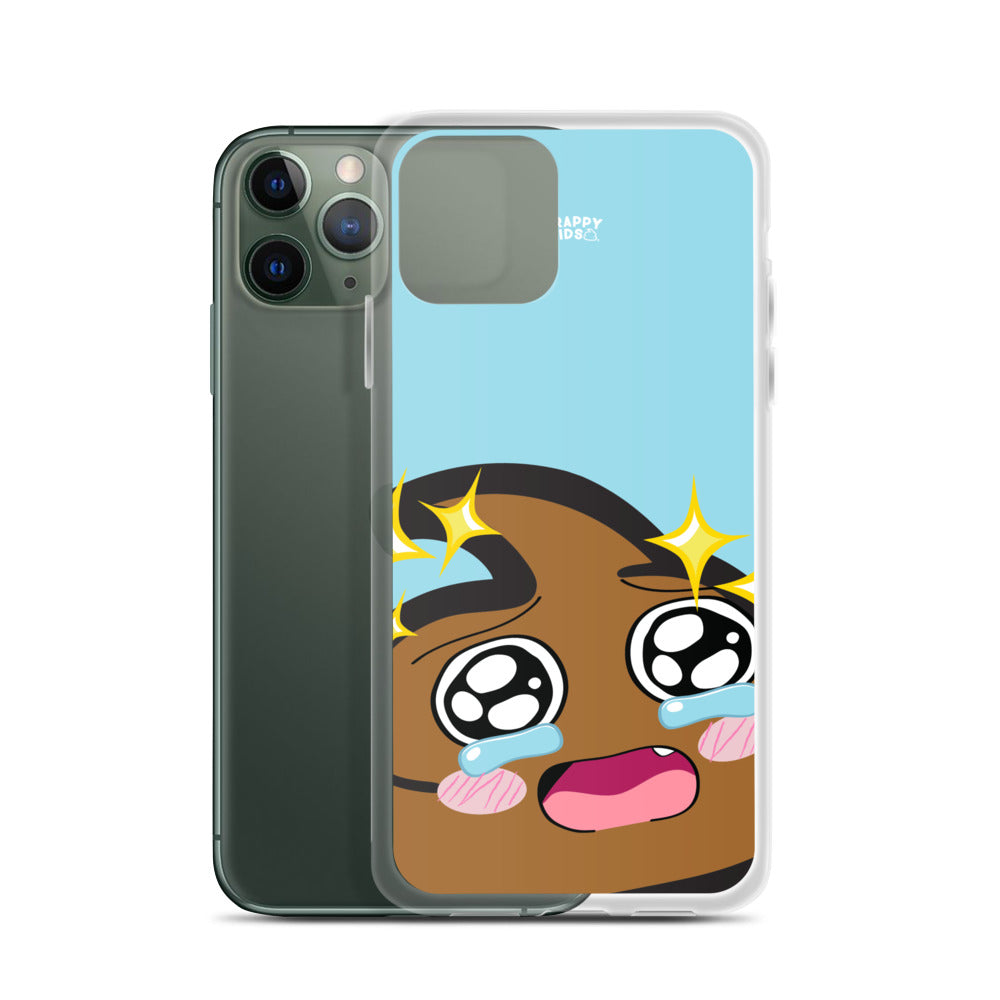 Senpai (Lt. Blue) iPhone Case