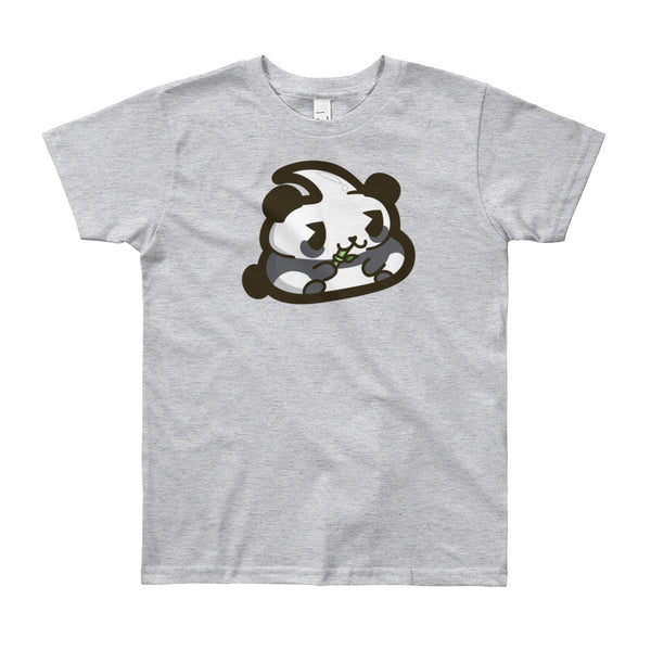 Panda Poo Youth Short Sleeve T-Shirt