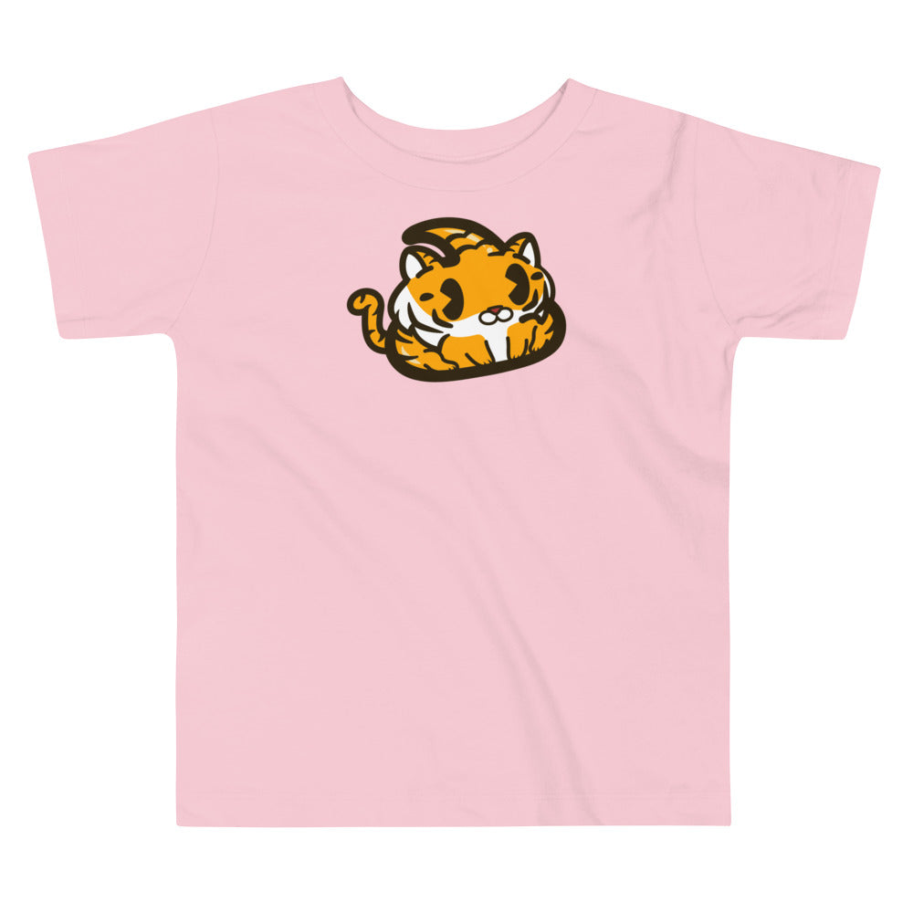 Tiger Poo Toddler Short Sleeve Tee