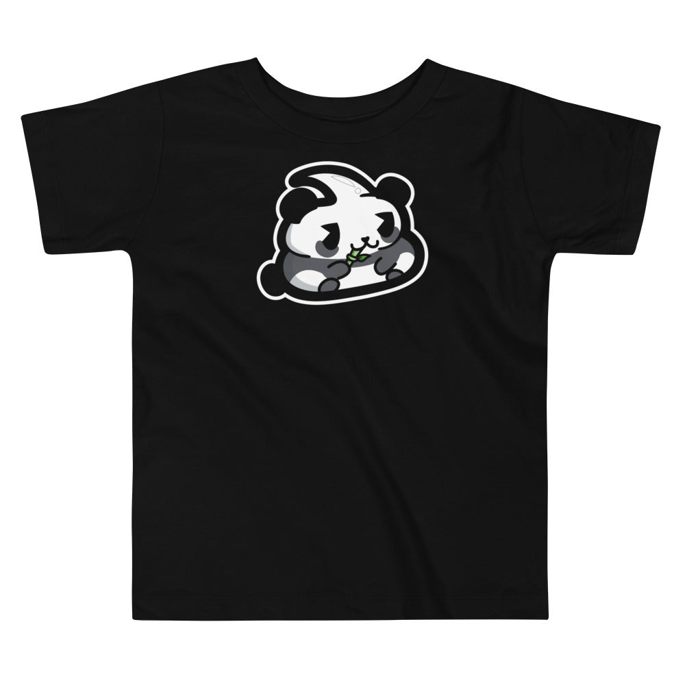 Panda Poo Toddler Short Sleeve Tee