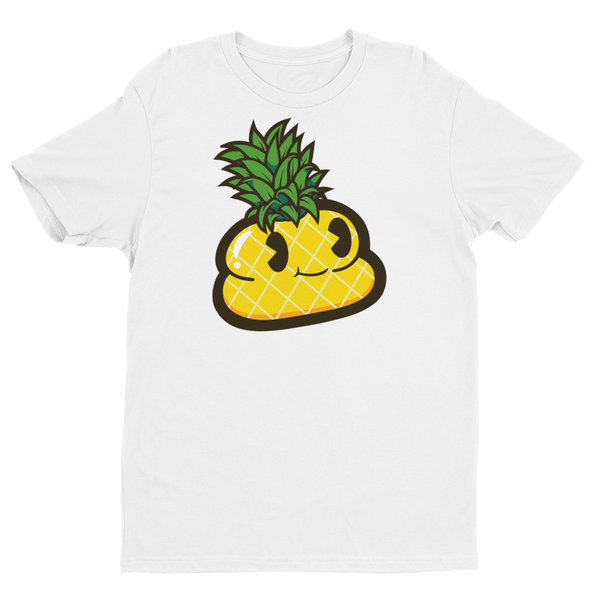 Pineapple Andre Short Sleeve White T-shirt