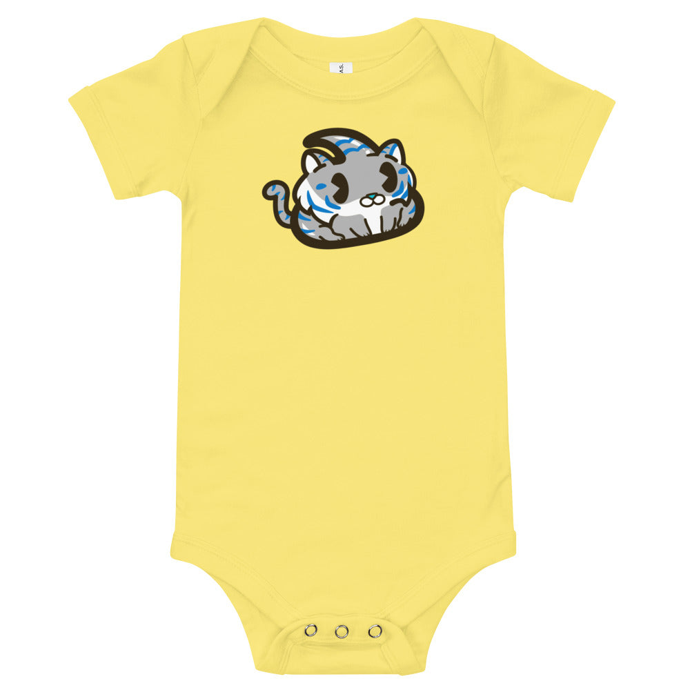 Grey Tiger Baby Onesie