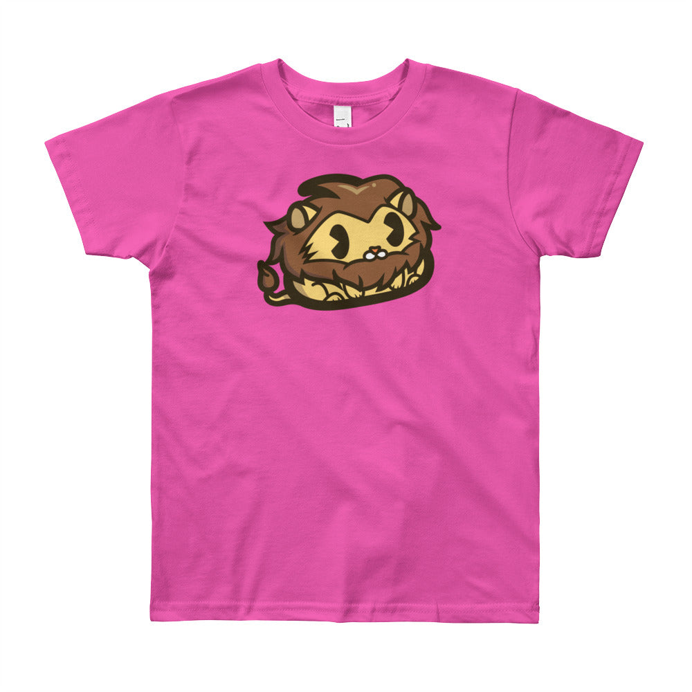Lion Poo Youth Short Sleeve T-Shirt