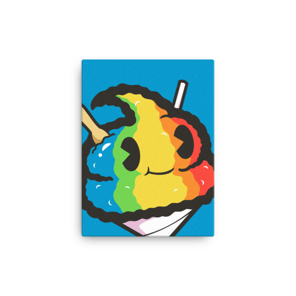 Shave Ice Andre 12x16 Canvas Print