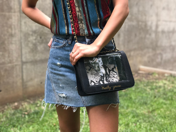 The Clearly Classic Crossbody