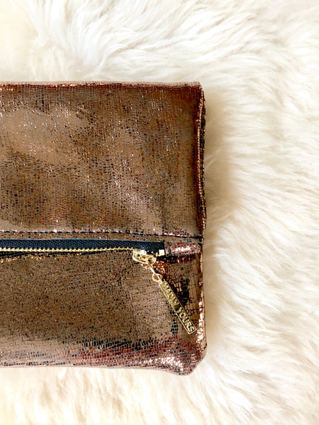 The MALI Foldover Clutch