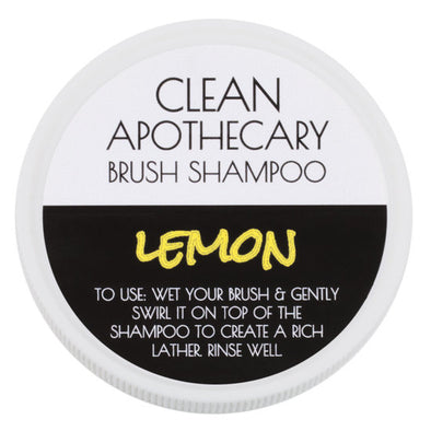Clean Apothecary Brush Shampoo - Lemon