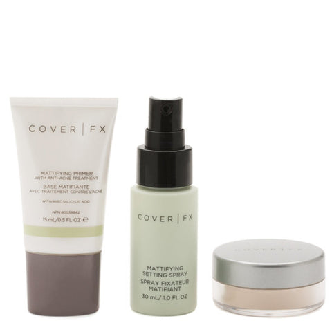 COVER FX Mattifying Prime & Set Kit