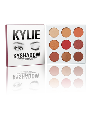 KYLIE COSMETICS THE BURGUNDY PALETTE | KYSHADOW