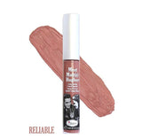 The Balm Meete Matte Hughes long lasting liquid lipstick ( Reliable )